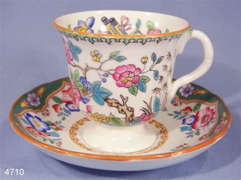 Floral Pattern Bone China Tea Cup And Saucer hammersley finished floral pattern vintage bone china tea cup and saucer sold