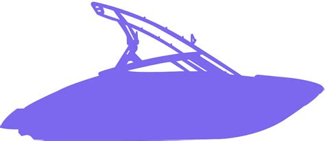 how to draw a malibu boat speed boat silhouette free vector silhouettes