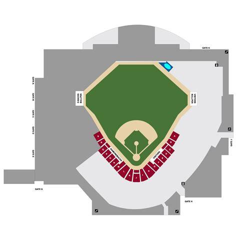 d backs stadium seating chart map of arizona diamondbacks stadium my