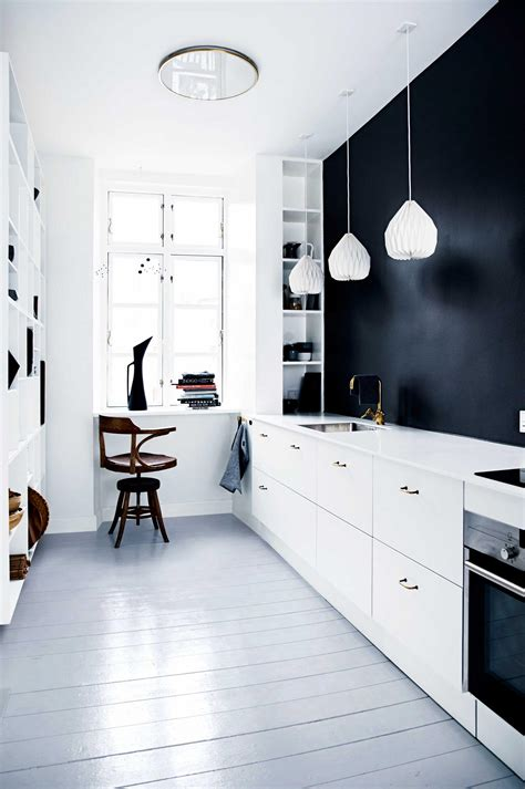 black kitchen walls decordots two looks of a small kitchen with amazing open