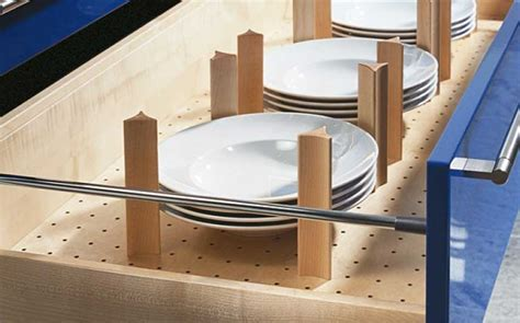 Kitchen Drawer Inserts For Plates by Allmilmo Inserts Wood Tec Kitchen Storage For Plates With