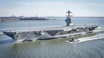 Gerald Ford Carrier Uss Gerald R Ford