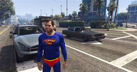 mod gta 5 videos gta 5 has its first superman mod vg247