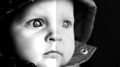 Tutorial Photoshop Black And White | how to create a stunning black and white photo effect in