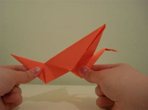 Origami Crane Flapping Wings - flapping origami crane 9