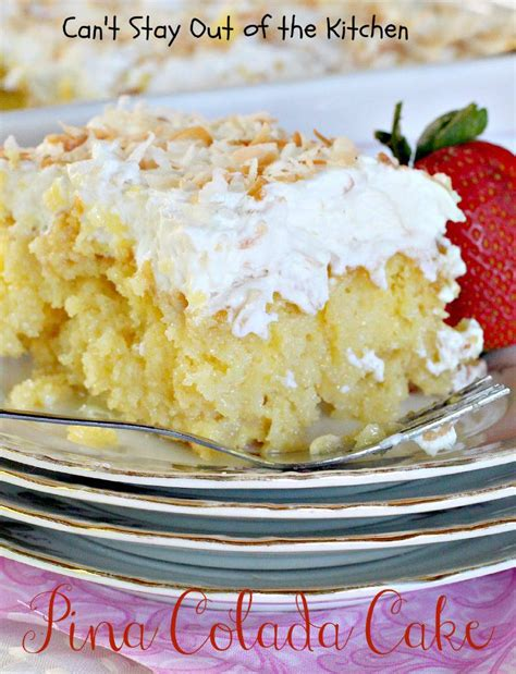 pina coconut cake recipe pina colada cake can t stay out of the kitchen