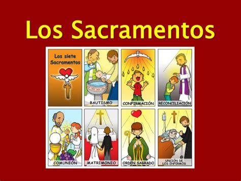 dibujos de los 7 sacramentos los sacramentos