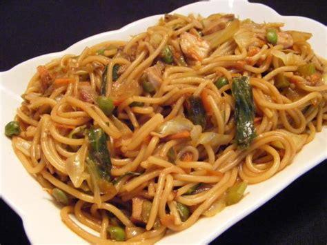 chicken lo mein with vegetables recipe food com