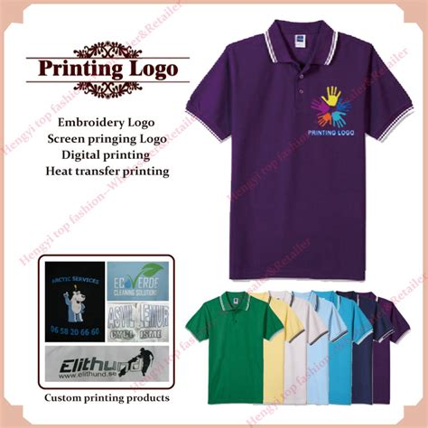 custom print 100 cotton t shirt company t shirt with your custom shirt printing personal logo silk screen print
