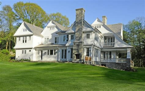 Celebrity Homes Interior 7 3 Million Newly Built Shingle Style Mansion In