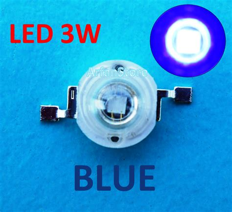 Led Hpl 3w Jual High Power Led Hpl 3w Blue Biru 460 470nm 3 2 3 6v 80 100lm Arfanstore
