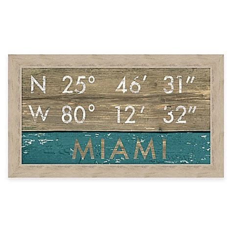 bed bath and beyond miami miami florida coordinates framed wall art bed bath beyond