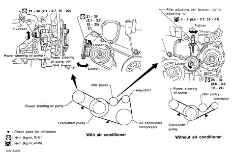 1998 nissan frontier belt diagram wiring diagrams wiring