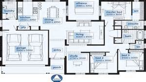 single story house floor plans single floor house plans large rooms single storey house plan