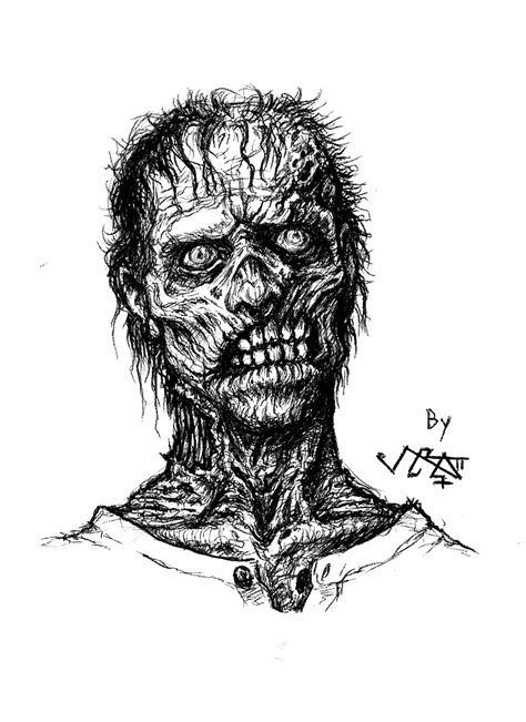 Drawing Zombies by Warm Up Sketches Moar Zombies Johnny Tie Studios