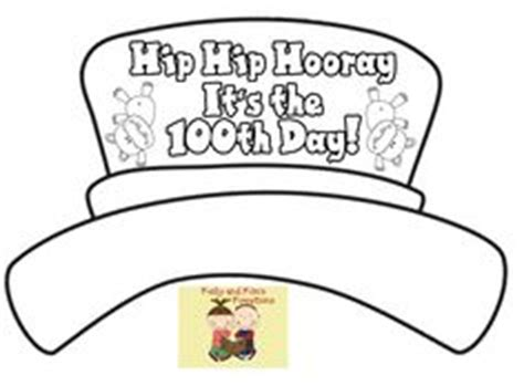 100 days of school hat template school 100th day on 100th day printables and