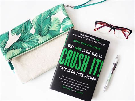 crush it why now 0062295020 crush it why now is the time to cash in on your passion whatever is lovely by lynne gabriel