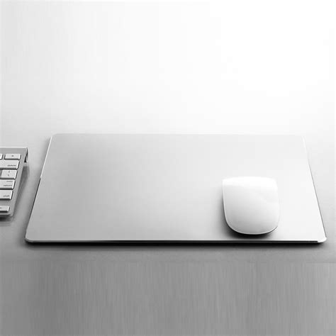 Metal Mouse Pad Rubber 240 X 180 X 3mm Silver metal mouse pad rubber 300 x 240 x 3mm silver jakartanotebook