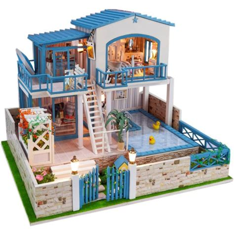 star doll house my love from the star korean style large diy doll house 3d