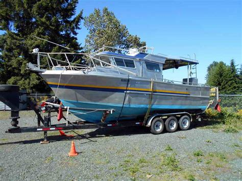 used boats for sale on vancouver island aluminum sport fisher