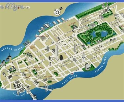 map of ny city attractions new york city map pdf archives toursmaps