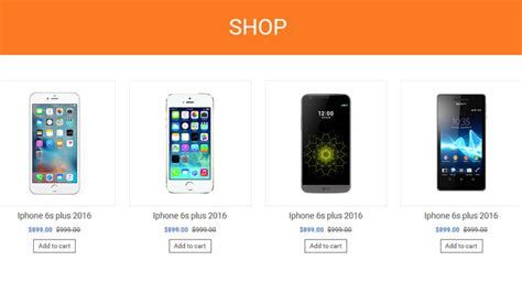 mobile store multipurpose ecommerce html template