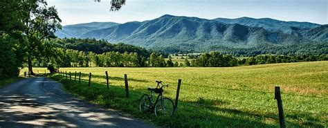 7 Bedroom Cabins In Pigeon Forge cades cove let s go for a bike ride