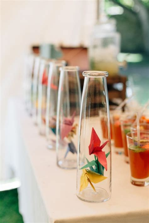 Origami Crane Centerpiece - top 25 best origami wedding ideas on simple