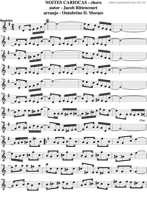 Super Partituras - Noites Cariocas v.12 (Jacob do Bandolim