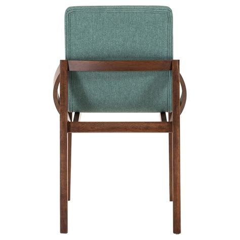 Modrest Jett Modern Fabric Dining Chair Blue Set Of 2