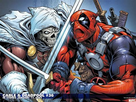 pictures of comic book characters cable deadpool 36 marvel comics wallpaper 6 wallcoo net