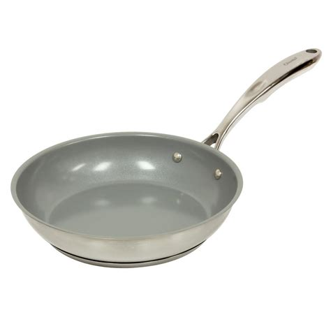 10 ceramic fry pan chantal induction 21 steel 10 in ceramic non stick fry