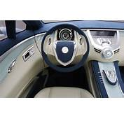 Nice Car As Background Buick Interior Blue