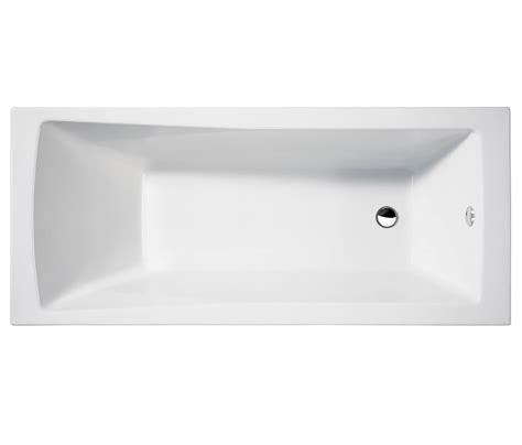 White Fireplaces Electric by Cleargreen Sustain Rectangular Single Ended Bath 1700 X