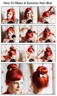 how to do mack hair new short hair styles how to make a summer hair bun