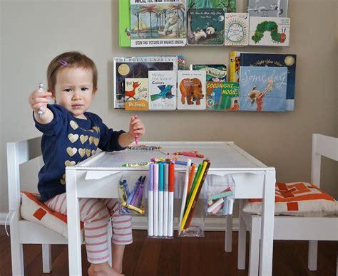 ikea white kids table art table ikea latt hack home decorating trends homedit