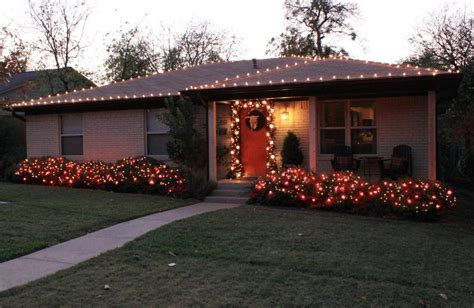 outside christmas lights the cavender diary