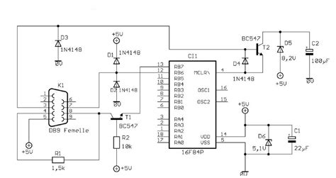 1n4148 diode schematic diodes can i replace 1n4148 with 1n4007 in this circuit pic programmer electrical