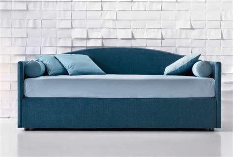 letto singolo a divanetto letto imbottito sirio 11 modelli dal sommier al divano