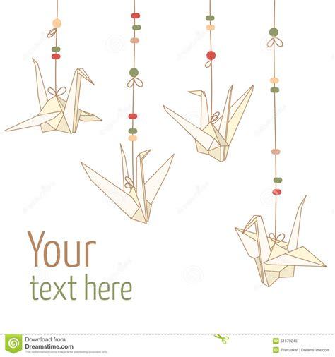Origami Crane Template - paper crane clip 55
