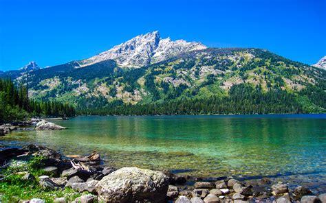 emerald lake grand teton national park wyoming usa