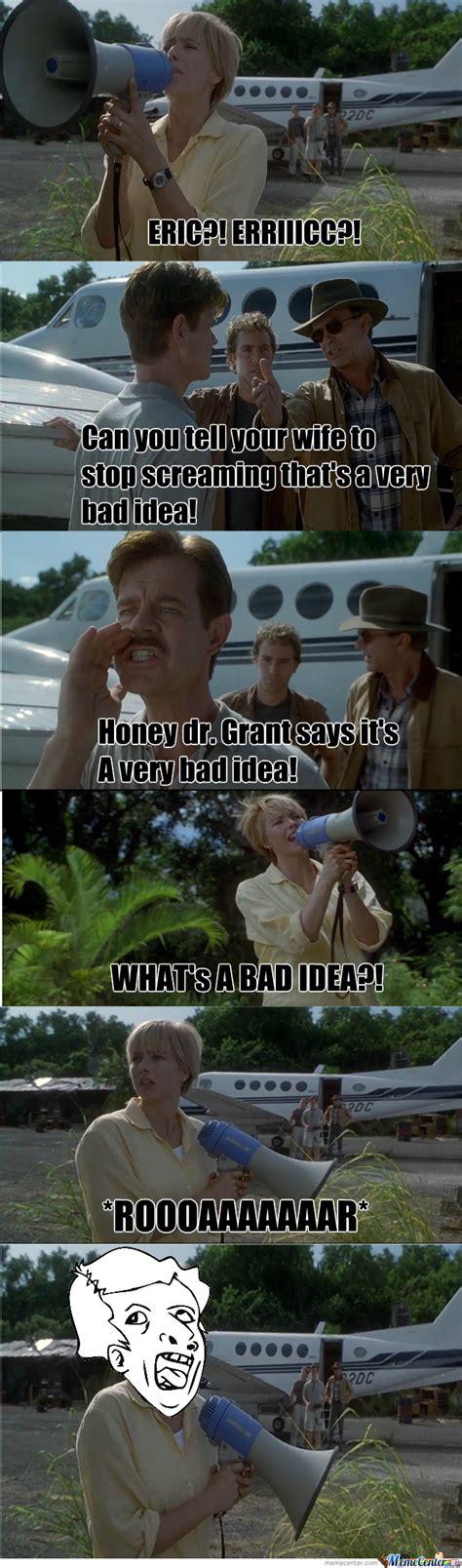 Jurassic Park Meme - jurassic park genius by sammypanda meme center