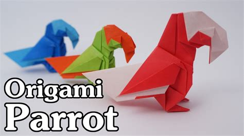 Origami Parrot - origami parrot barth dunkan