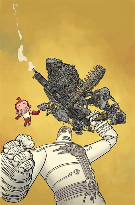 big guy and rusty frank miller and geof darrow are back with big guy and rusty for dhp the beat