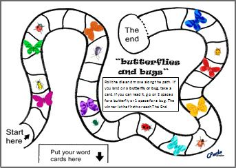 printable literacy board games family board games clipart 56