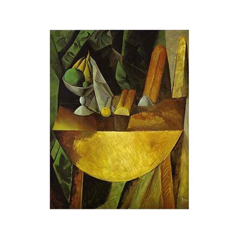 picasso paintings fruit quot bread and fruit dish on a table quot by pablo picasso