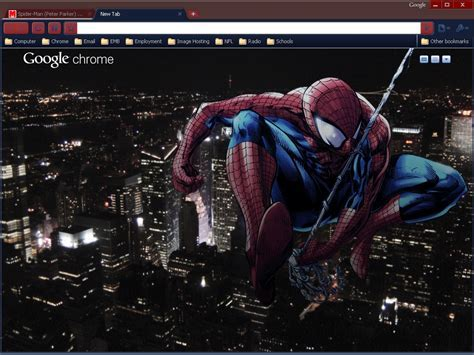 5 Best Looking Super Heroes Themes For Google Chrome