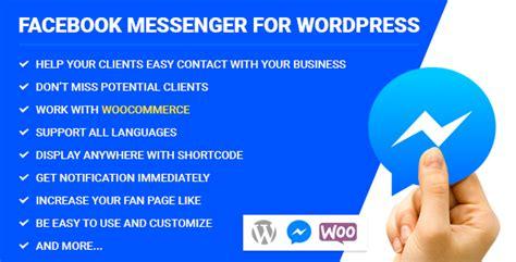themes facebook messenger download free facebook messenger for wordpress v2 1