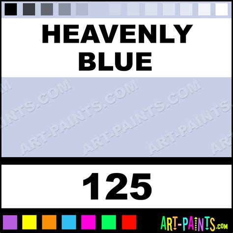 heavenly blue opaque stain ceramic paints 125 heavenly