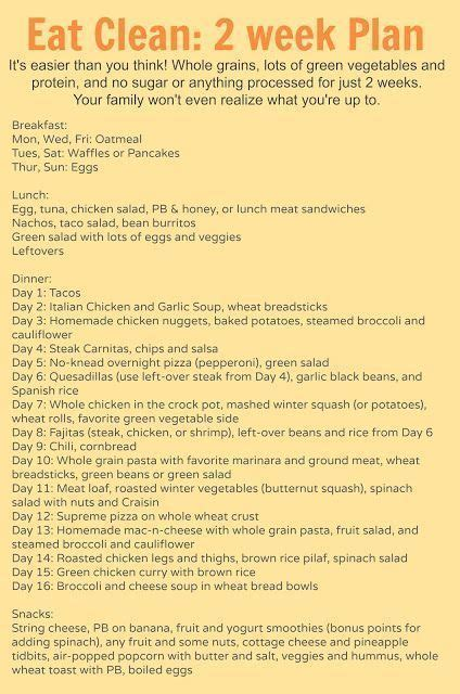 Week Detox Diet Plan by 1000 Ideas About 2 Week Cleanse On Thing 1 1